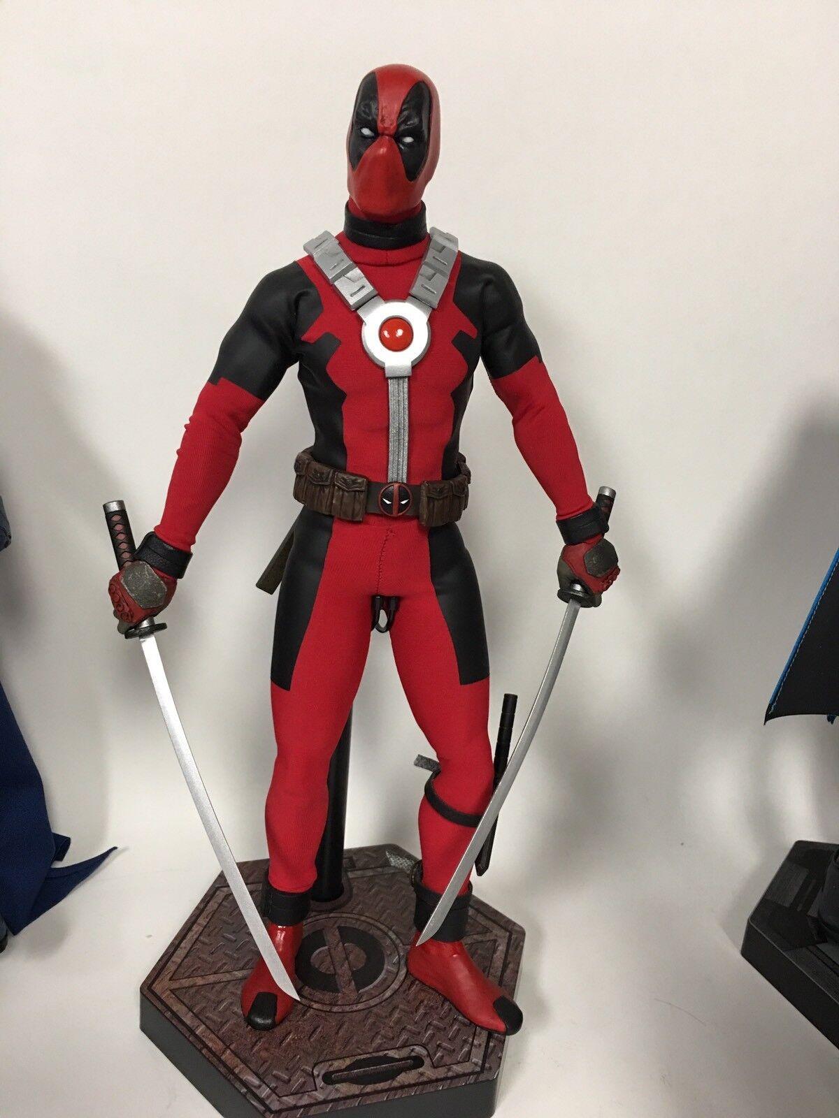 últimos estilos Personalizado 1 6 Marvel Deadpool Deadpool Deadpool Personalizado Sideshow Hot Juguetes Wade Wilson Tony Mei difícil de encontrar Wow  ofrecemos varias marcas famosas