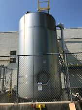 7700 Gallon Mueller Jacketed Stainless Steel Tank