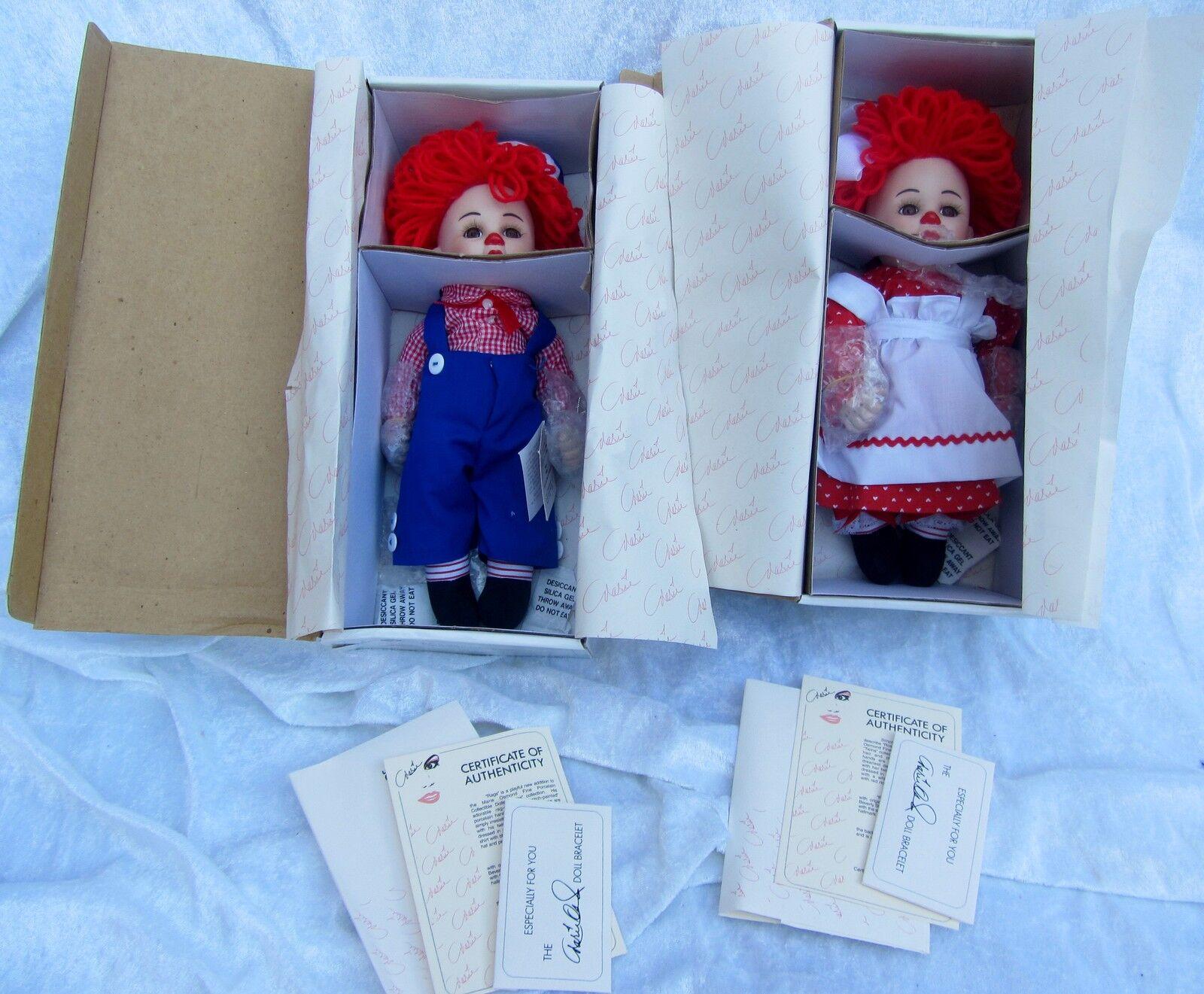 Marie Osmond    5200    4900   Porcelana   Rags y Rosie  espíritu navideño