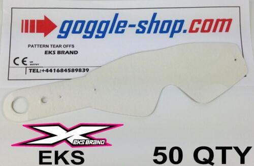 50 St.Goggle-Shop Motocross Zum Abreißen Passend für Eks Ganz Brille Flipper