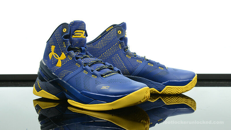 Under Armour UA Stephen Curry 2 Two Dub Nation Away 1259007-422 Warriors  9.5