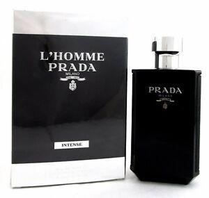 L-039-Homme-Prada-Milano-INTENSE-by-Prada-3-4-oz-EDP-Spray-for-Men-Brand-new-Box