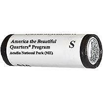 2012 S Acadia NP Roll of 40-Sealed Mint Box-Uncirculated S Mint LP5