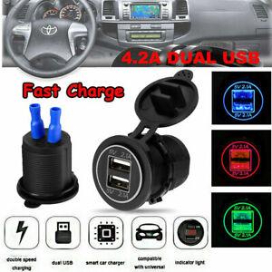 12V-Car-Cigarette-Lighter-Socket-Splitter-Dual-USB-Charger-Power-Adapter-Outlet