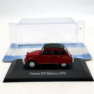Ixo-Altaya-1-43-citroen-3cv-solera-1972-red-DIECAST-models-Limited-Edition