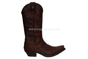 New Rock M.7921-B Black Plain Flame Devil Leather Boot Goth Biker Rock Boots