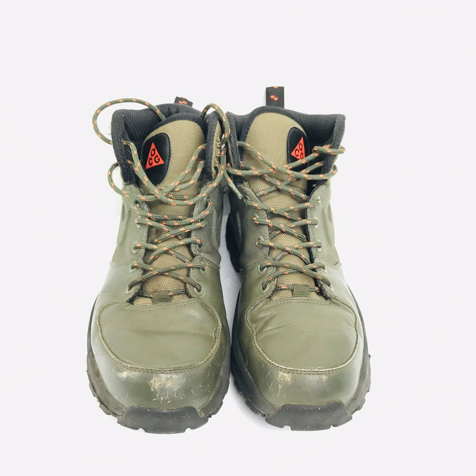 Nike Mens ACG Green Athletic Boot All Conditions Gear Size US 8.5