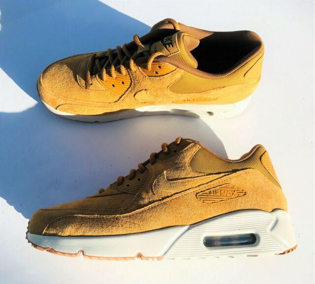 Nike Air Max 90 Ultra 2.0 LTR Wheat Light Bone 924447 700 Men's 9, Women's 7.5