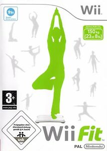 Wii-Fit-Game-Only-Wii-Nintendo-Wii-Free-Postage-EU-Warehouse