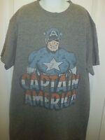 Youth Boys Capitan America Shirt Sz S, Casual Shirt Capitan America Design