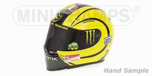 "AGV helmet Valentino Rossi 2010 1 2  MotoGP 2010 ""Ducati test Valencia  gros pas cher"