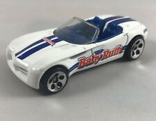 Hot Wheels Dodge Concept Car Baby Ruth White 1999 Vintage Diecast