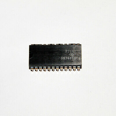 5pcs SN74LS181N 4-Bit Arithmetic Logic Unit PDIP24
