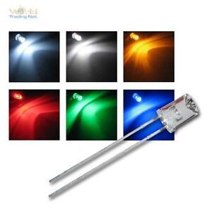 LED-5mm-wasserklar-Linse-konkav-alle-Farben-konkave-LEDs-5-mm-Leuchtdioden-NEU