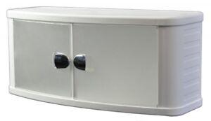 Medizinschrank Hängeschrank 2 Türen 64 cm breit Badezimmer Schrank Bad