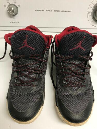 Nike Air Jordan Rising High 2 Black/Gym Red White