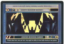 Star Wars CCG Reflections II Foil Executor : Meditation Chamber