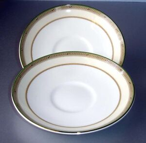 Details About Wedgwood Heiress Tea Saucer Set Of 2 Made In U K New