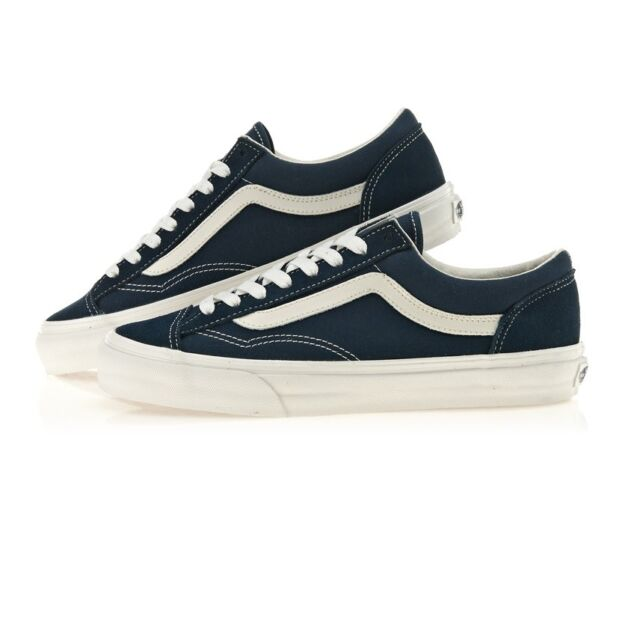 c2e5c704d15e Vans Style 36 Shoes Suede Dress Blue Marsh Navy Sneakers VN0A3DZ3RFL US 12