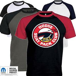 1894c0b2 Mens Dodge T Shirt Scat Pack Super Bee Mopar American Classic Muscle ...