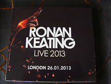 Slip Double: Ronan Keating : Live 2013 : O2 Arena London 2 CDs
