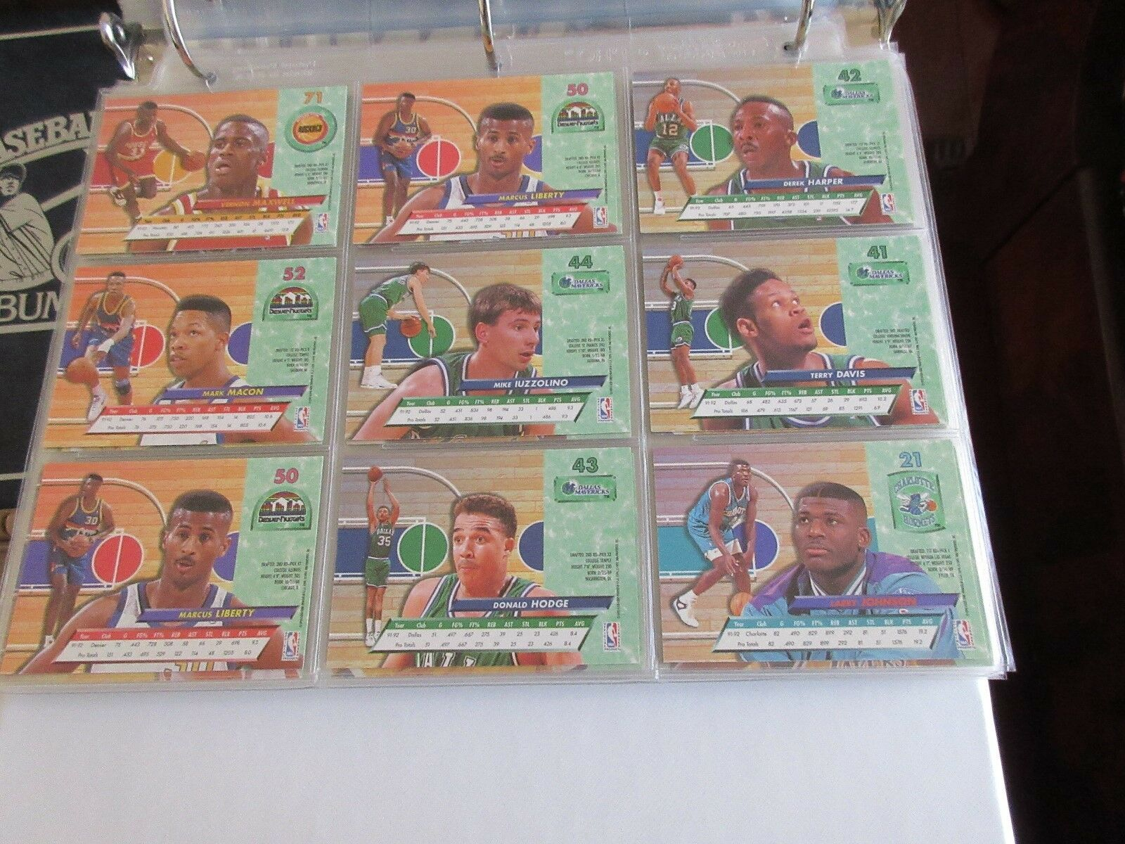 1992-93 , Fleer ULtra , Basketball Cards , Lot of 100 C