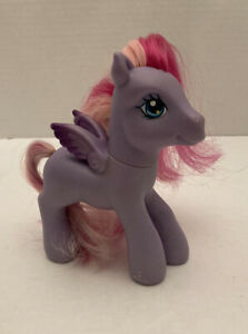 "2007 Hasbro G3 My Little Pony MLP Starstrong Purple Pegasus Figure Toy 4.5"""