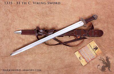 11th Century Viking Medieval Sword - Bronze Fittings