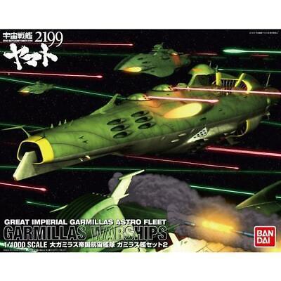 1//1000 GREAT IMPERIAL GARMILLAS SHIP SET 3 SPACE BATTLESHIP YAMATO F//S w//Track#