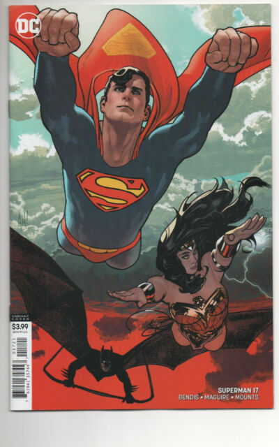 SUPERMAN #17 (2020) Both Cover A & Cover B Hughes Variant Bendis NM