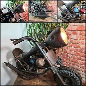 Motorrad Harly Lampe Stehlampe Rider Bike Einzelstück Unikat  Handmade