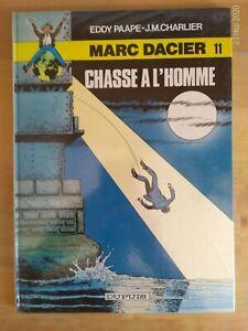 Marc-Dacier-par-Paape-amp-Charlier-tome-11-Chasse-a-l-039-homme-Dupuis-1984