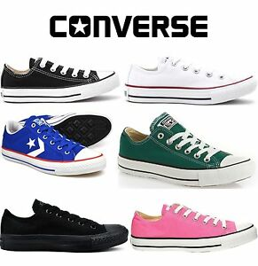 90c360420dbe7 Converse Classic Chuck Taylor Low Hi Trainer Sneaker All Star OX NEW ...
