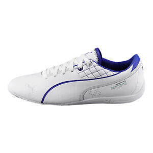 Details zu Mercedes AMG Puma Sneaker Schuhe Sportschuhe Weis Blau