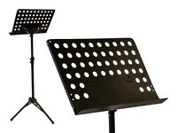 Heavy Duty Professional Folding Orchestra Band Conductor Sheet Music Stand on sale
