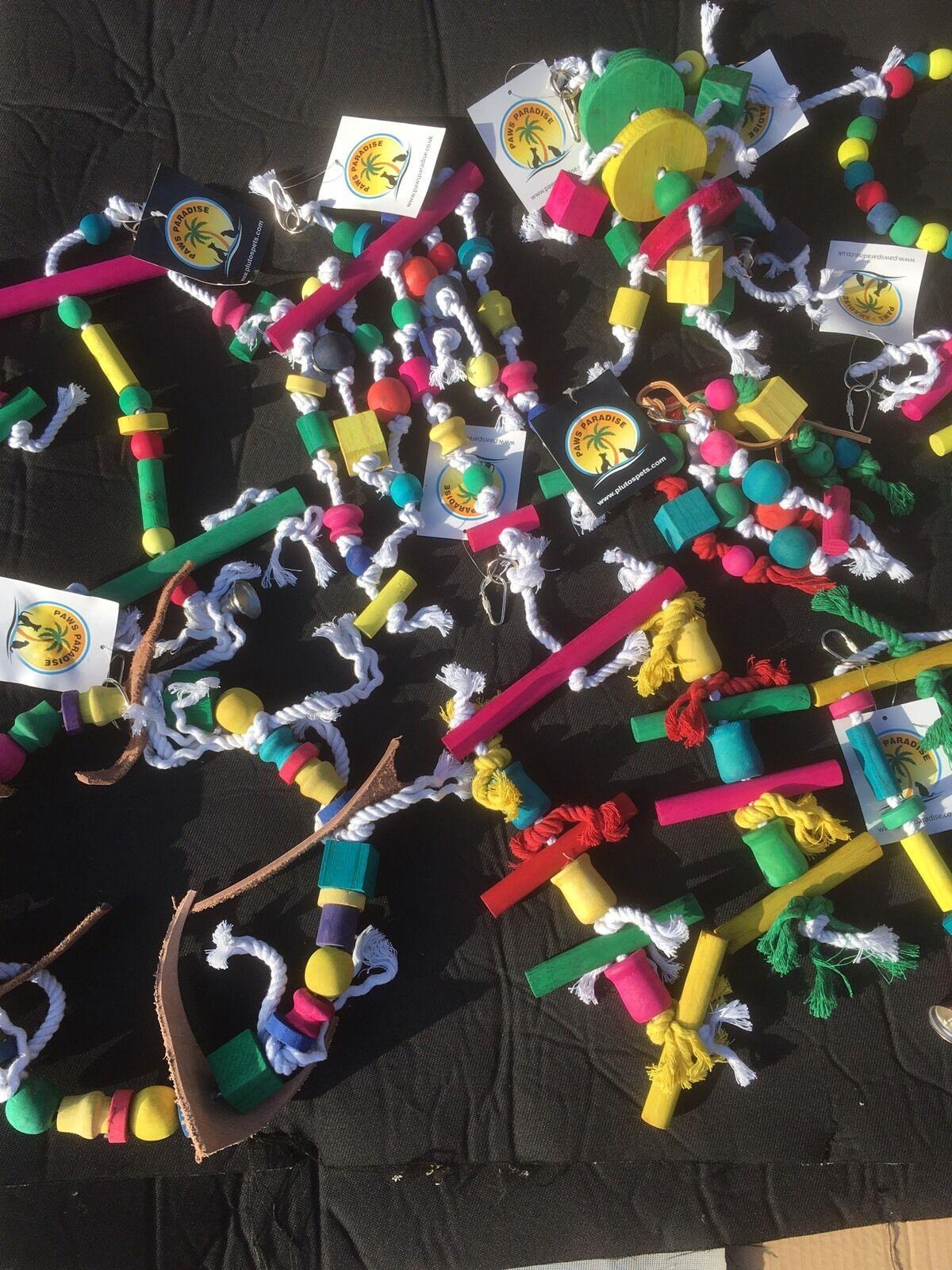 caldo Parrot e BIRD Toys-buon assortimento X100 X100 X100  migliore qualità