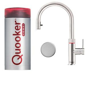 quooker flex combi volledelstahl 100 c edelstahl kochender wasserhahn ebay. Black Bedroom Furniture Sets. Home Design Ideas