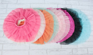 New-Girls-Rara-Tulle-Tutu-Skirt-9-12-18-Month-2-3-4-5-6-7-Year-in-12-Colours
