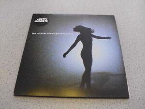 Arctic-Monkeys-The-Hellcat-Spangled-Shalalala-7-034-Single-Vinyl-Miles-Kane