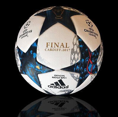 NUOVO ADIDAS UEFA CHAMPIONS LEAGUE FINALE Cardiff Match Palla da 2017 buona condizione | eBay