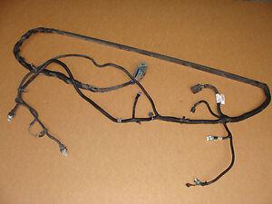 details about 06 08 c6 corvette manual transmission torque tube wiring harness 15802627 C6 Corvettes Underside