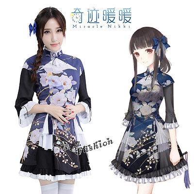 Miracle Nikki Cosplay ZQF Kostüm Kleid Anime lolita Chinese Stil Drucken M-L NEU