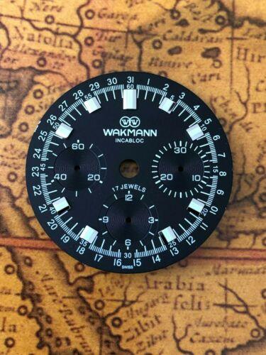 Wakmann Zifferblatt für ETA Valjoux 72 SWISS MADE