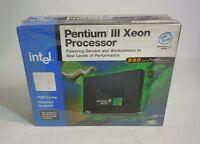 Intel Pentium Iii Xeon Processor 550mhz Sl2 1mb 100fsb Retail Packaging