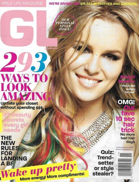 Girls Life Magazine Bridgit Mendler Fashion Boyfriends Hairstyles 25 Beauty Tips Ebay