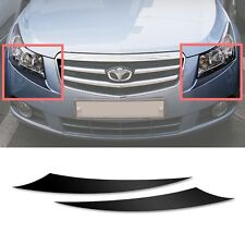 Front Bumper Protecter Eye Line Sticker 2p For 08 09 10 11 12 Chevy Cruze