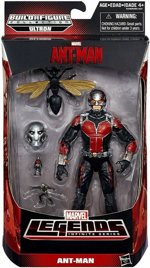 Ant uomo Marvel Marvel Marvel Legends Ultron Series Ant-uomo azione cifra 03534e