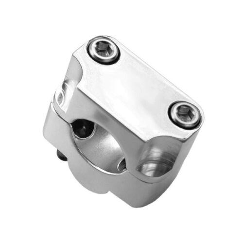 Coppia Riser Argento Universali Manubrio da 28 mm HUSQVARNA SM 610 630 505
