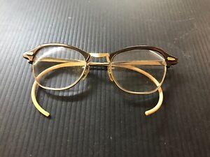 7e5b56b7d85 Vintage Ladies B   L 1 10 10k Gold Filled Glasses with Lenses E89