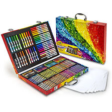 Kids Drawing 175 Piece Wooden Art Set Colour Pencils Markers Oil